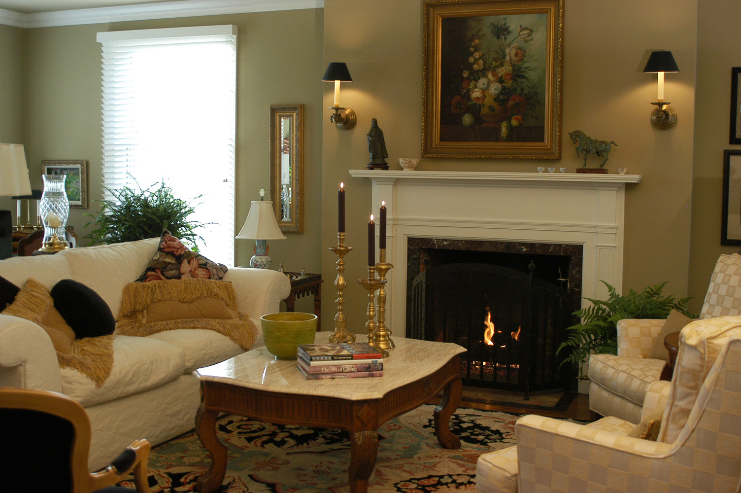 Beautiful Living Room Of A Home Designed By Interior Designer Kevin Stefani Of  Cleveland, Ohio And