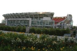 Photograph of Cleveland Browns' Stadium in Cleveland Ohio