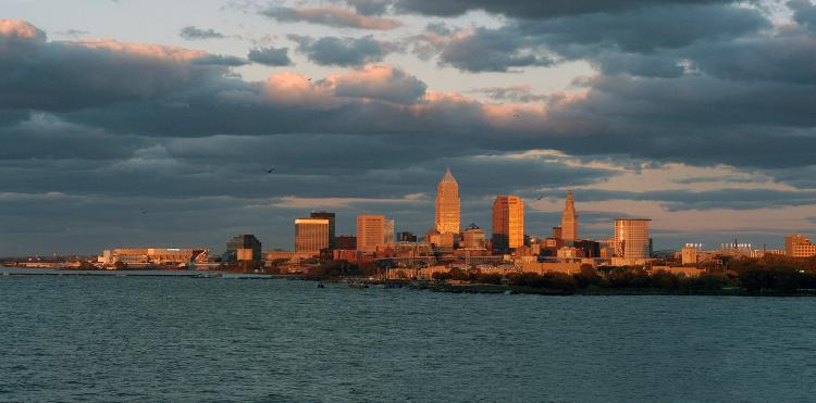 The Photography of Kurt Shaffer Photographs View of Cleveland, Ohio