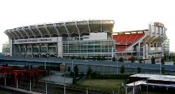 Cleveland Browns Football Stadium, in beautiful Cleveland, Ohio photograph