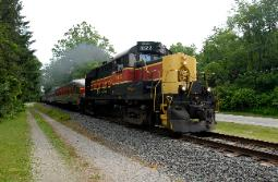 The Cuyahoga Valley Line train, Penninsula, Ohio