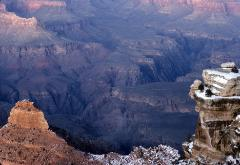 Dramatic photo of The Grand Canyon in early morning light