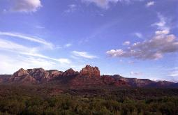 Sedona, Arizona red rocks vista