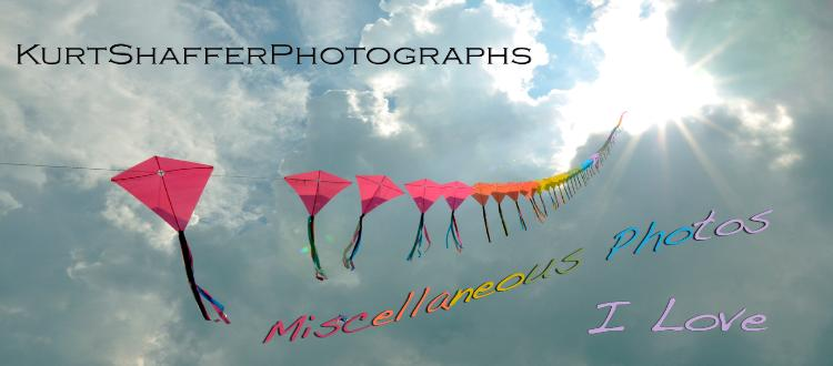 KurtShafferPhotographs Miscellaneous Photos I Love web page header showing the photograph:
